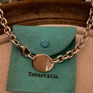 Tiffany and Co. Return to Tiffany Necklace choker